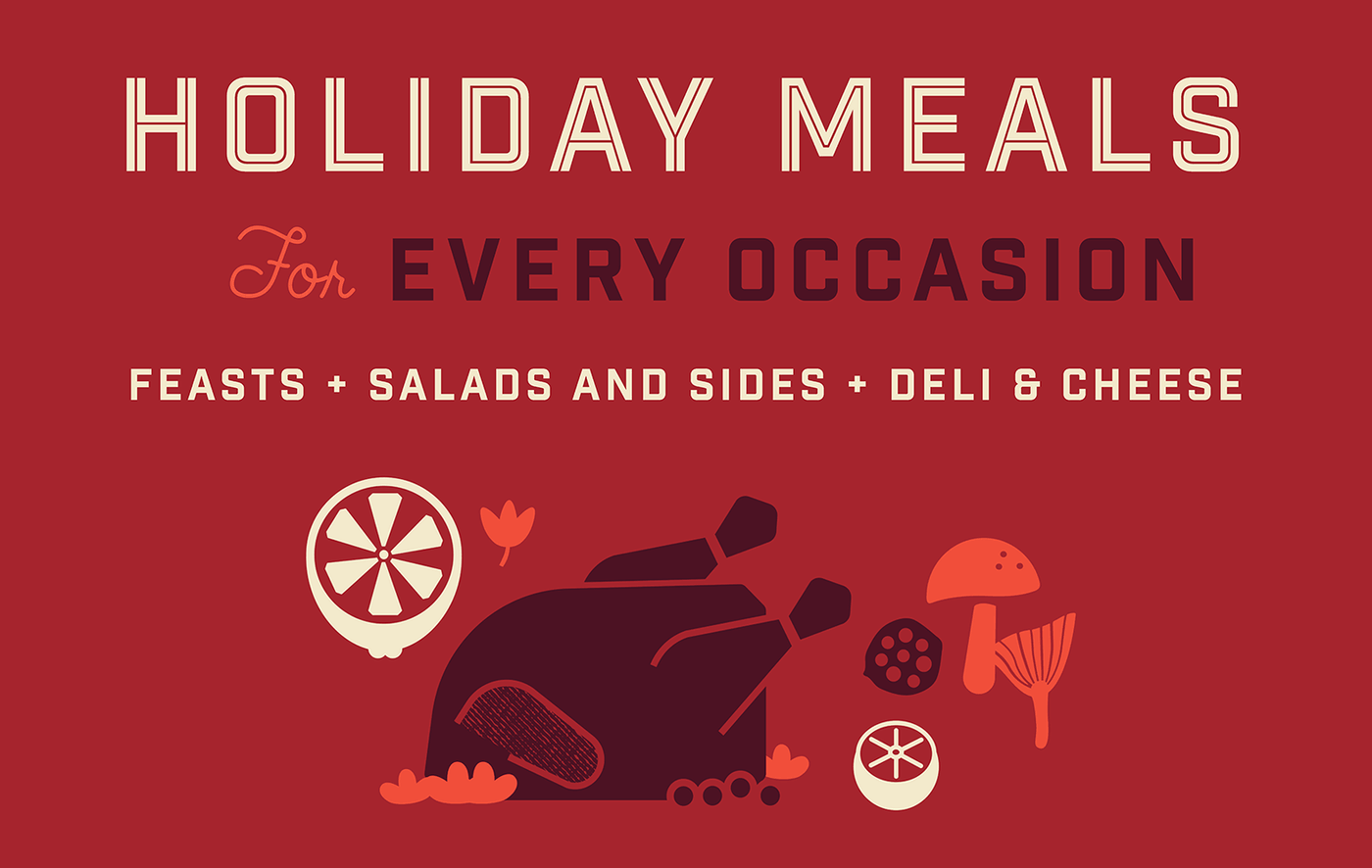 Gus's Market 2019 Holiday Meals Mobile Banner