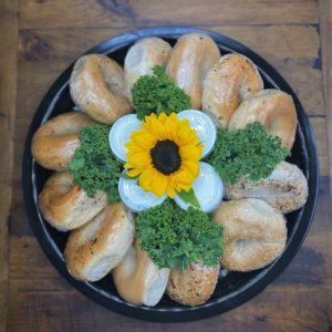 Wrapped Bagel Platter